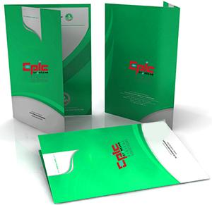 Folders Design and Printing Dubai