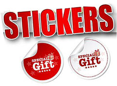 Stickers Design Printing Dubai