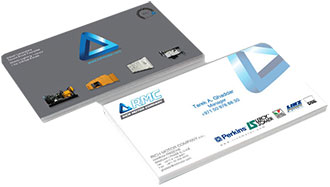 Business card design printing company dubai epic creaive business card design and print company in dubai reheart Images