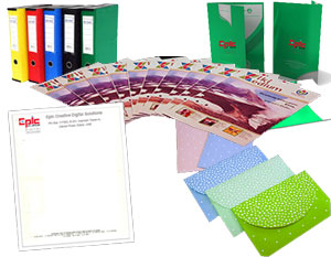 Stationery design and printing uae