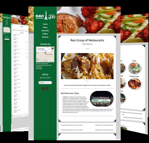 Website-Design-For-Ravi-Restaurant